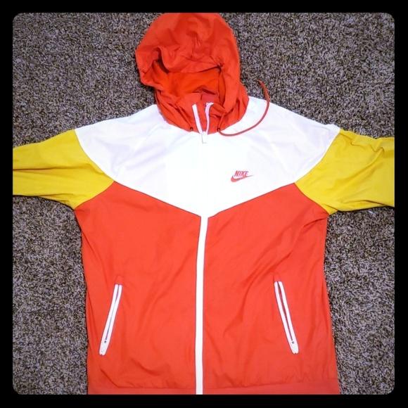 Nike Jackets \u0026 Coats | Orange And White